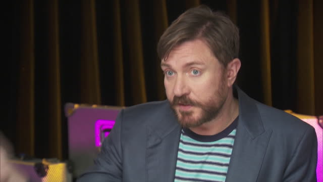 simon le bon of duran duran says that he believes in all equality while backstage at the chime for change benefit concert to promote women's rights. - savannah guthrie stock videos & royalty-free footage