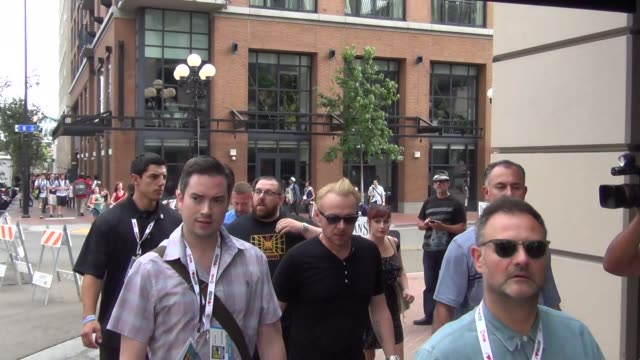 simon pegg and nick frost at celebrity sightings comiccon international 2013 simon pegg and nick frost at celebrity sightings on july 19 2013 in san... - simon pegg stock videos & royalty-free footage
