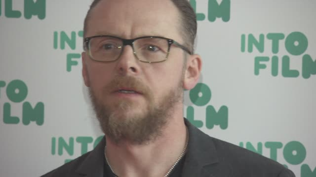 Simon Pegg at Into Film Awards at Odeon Leicester Square on March 15 2016 in London England
