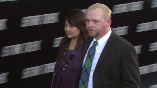 simon pegg at the 'star trek' premiere at hollywood ca - simon pegg stock videos & royalty-free footage