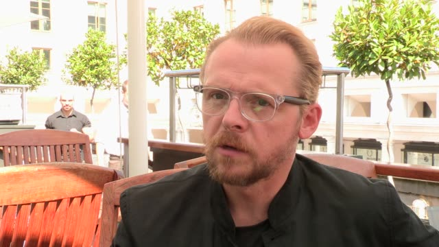 simon pegg on raymond blanc on august 28, 2013 in london, england - raymond maine stock videos & royalty-free footage