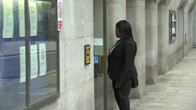 Accused previously charged after attacking his mother ENGLAND London The Old Bailey EXT Simonne Kerr's family members arriving at court Reporter to...