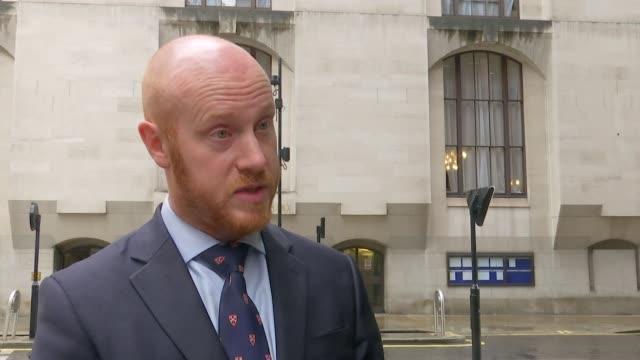 Desmond Sylva found guilty ENGLAND London EXT Detective Chief Inspector John Massey interview SOT