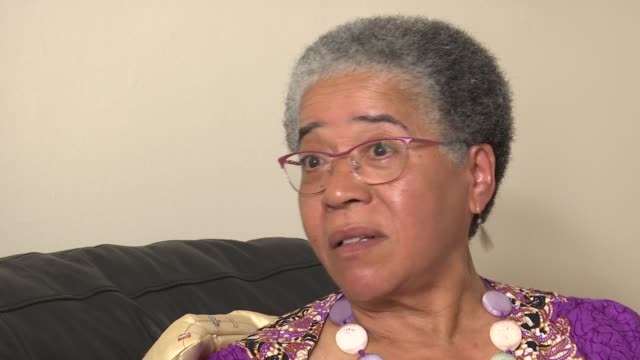 man charged / charity work england london int professor dame elizabeth anionwu interview sot reporter sitting with anionwu reporter sitting with... - sickle stock videos & royalty-free footage