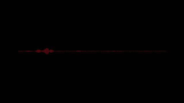 vidéos et rushes de 4k égaliseur simple sur fond noir. fond graphique et animation de mouvement. - but égalisateur