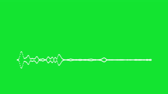 4k simple equalizer on green background. motion graphic and animation background. - sound mixer stock videos & royalty-free footage