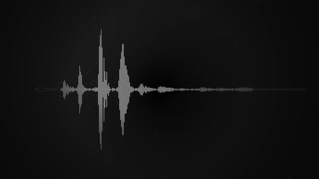 vídeos y material grabado en eventos de stock de 4k ecualizador simple blanco sobre fondo negro. gráfico de movimiento y fondo de animación. vídeo de stock - luces estroboscópicas