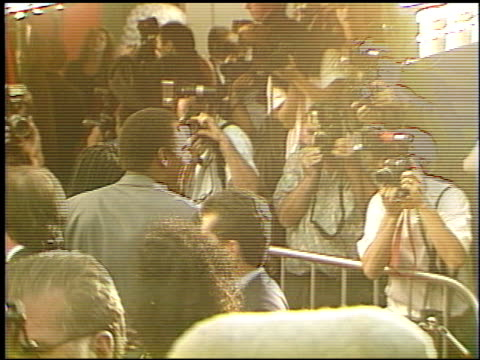 OJ Simpson at the 'Cliffhanger' Premiere at Grauman's Chinese Theatre in Hollywood California on May 1 1993
