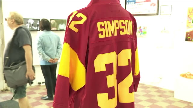 simpson pop-up museum in chinatown. - o.j. simpson stock videos & royalty-free footage