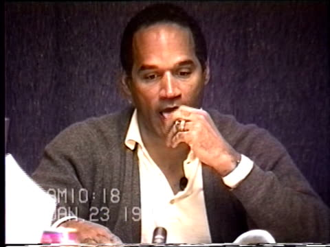 OJ Simpson's civil trial deposition 1018 AM 1/23/96 Questions about who maintains the calendar