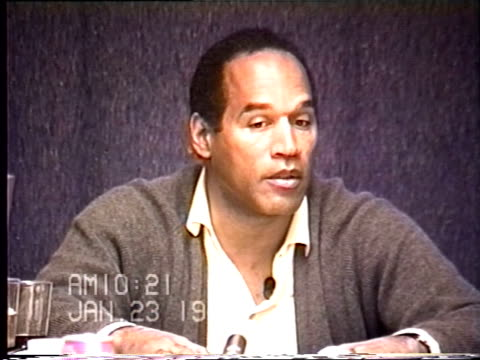 OJ Simpson's civil trial deposition 1020 AM 1/23/96 Questions about Cathy Randa shredding documents for OJ