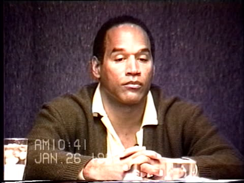 OJ Simpson's civil trial deposition 1039AM 1/26/96 Questions about the types of gloves OJ owned and it he had gloves similar to the murder gloves