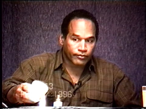 OJ Simpson's civil trial deposition 1042AM 2/27/96 More details about the police activity following the 1989 incident