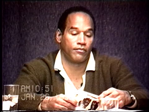 OJ Simpson's civil trial deposition 1050AM 1/26/96 Questions about the types of gloves OJ owned and it he had gloves similar to the murder gloves