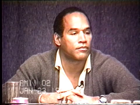 OJ Simpson's civil trial deposition 1101 AM 1/23/96 More questions about OJ's last dinner with Nicole and taking care of her when she was sick