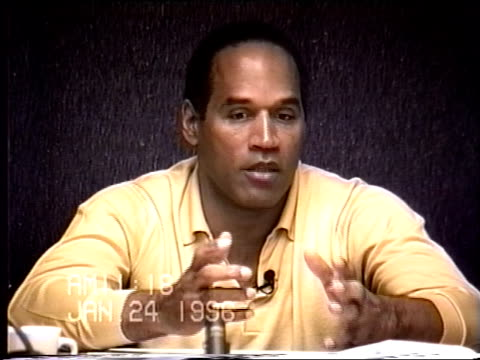 OJ Simpson's civil trial deposition 1116 AM 1/24/96 Questions about the noises Kato Kaelin mentions hearing on the night of the murder