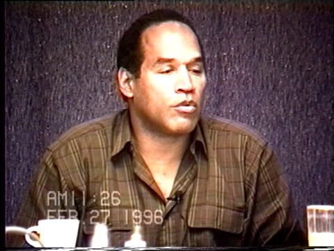 OJ Simpson's civil trial deposition 1126AM 2/27/96 Questions concerning OJ's relationship with his assistant Cathy Randa