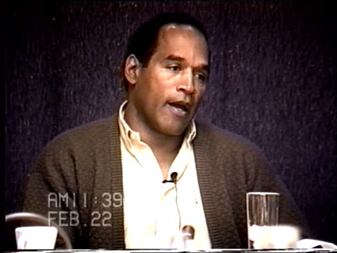 OJ Simpson's civil trial deposition 1138AM 2/22/96 Questions about OJ's 1993 trip to Cabo with Nicole