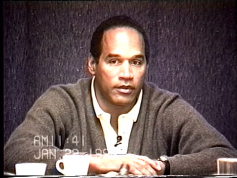 OJ Simpson's civil trial deposition 1139 AM 1/22/96 Questions about OJ's high end knife collection