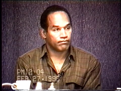 OJ Simpson's civil trial deposition 1202PM 2/27/96 Questions about the frequency of OJ's phone calls with Nicole Denise and Judy Brown