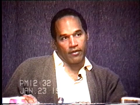 OJ Simpson's civil trial deposition 1231 PM 1/23/96 Questions about the cuts on OJ's hand