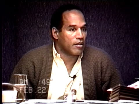 OJ Simpson's civil trial deposition 148PM 2/22/96 Questions about how OJ felt about the breakup with Nicole and who initiated it