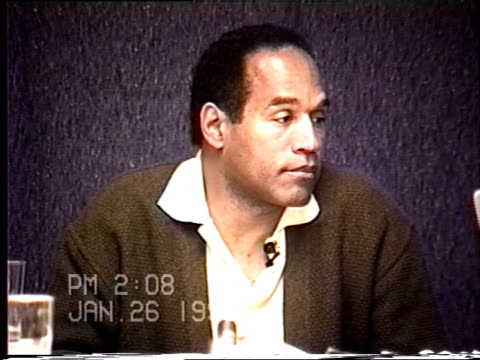 OJ Simpson's civil trial deposition 206PM 1/26/96 Play by play of what happened the morning after the murders starting with call from LAPD notifying...