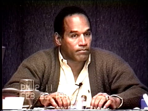 OJ Simpson's civil trial deposition 209PM 2/22/96 Questions about Nicole's mental state in the lead up to her murder including the IRS letter