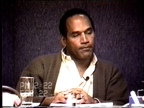 OJ Simpson's civil trial deposition 220PM 2/22/96 Questions about Nicole going to hospital for injuries and OJ's behavior during her pregnancies