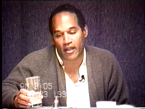 OJ Simpson's civil trial deposition 303 PM 1/23/96 Questions about the clothes OJ was wearing and packing for his trip to Chicago as well as the...