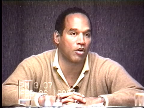 OJ Simpson's civil trial deposition 306PM 2/26/96 Questions revealing more details about the 1989 incident when OJ was 'rassling' Nicole out of the...