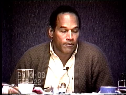 OJ Simpson's civil trial deposition 308PM 2/22/96 Questions about a woman named Tawny Kitaen who OJ had a relationship with while married to Nicole