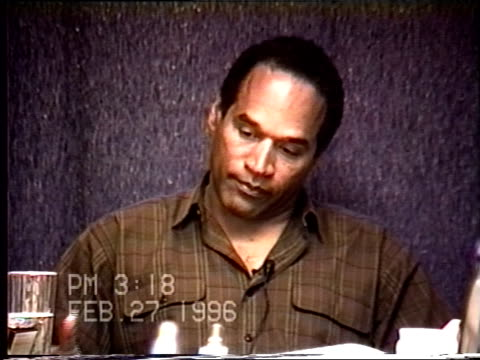 OJ Simpson's civil trial deposition 316PM 2/27/96 Questions about the OJ attending the dance recital on June 12th
