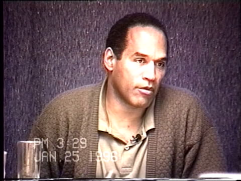 OJ Simpson's civil trial deposition 327PM 1/25/96 Questions about the 1984 incident at Rockingham when Officer Mark Furman responds to a call from...