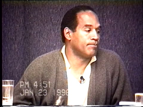 OJ Simpson's civil trial deposition 450 PM 1/23/96 Questions about the limo driver Park and the conversations that took place as well as clarifying...
