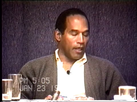 OJ Simpson's civil trial deposition 504 PM 1/23/96 Questions about the limo driver Park and the conversations that took place as well as clarifying...