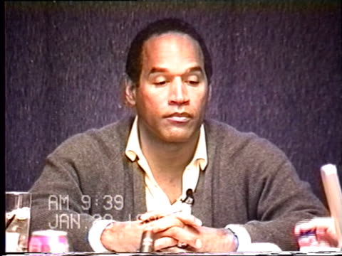 OJ Simpson's civil trial deposition 938 AM 1/23/96 Questions about OJ's cell phone and battery packs while he was in Bronco