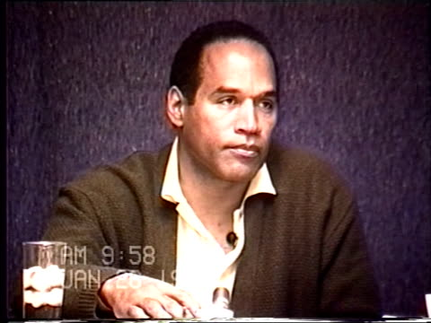 OJ Simpson's civil trial deposition 957AM 1/26/96 Questions about the conversations OJ had with Ron Shipp and Shipp wanting to use his jacuzzi with a...