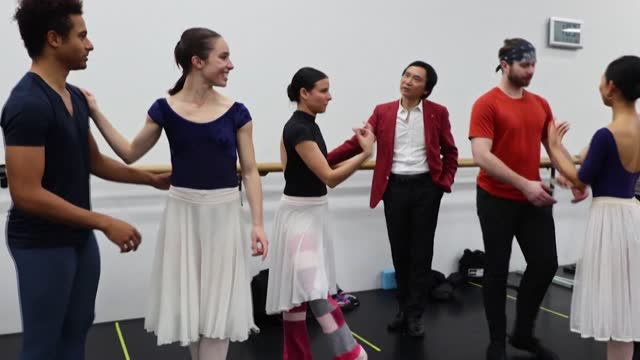 since li cunxin was plucked from rural china to join madame mao's elite ballet school, through his exile in the us and now the pandemic, his life has... - ballet dancing stock videos & royalty-free footage