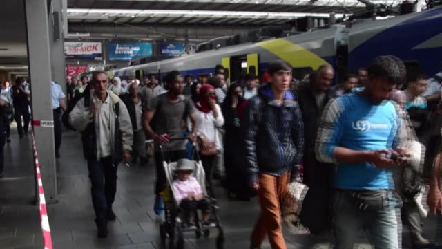 since taking in more than a million people fleeing war and poverty in 2015, europe has stepped up border controls but still falls short on common... - escaping stock videos & royalty-free footage