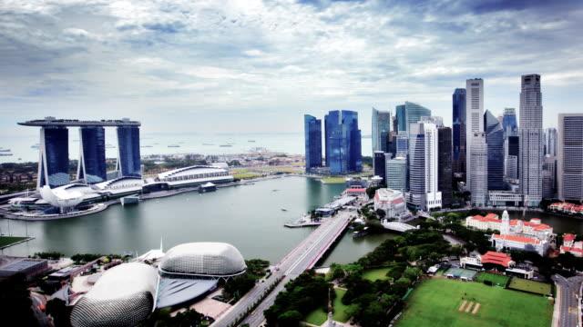 Singapur – Luftaufnahme