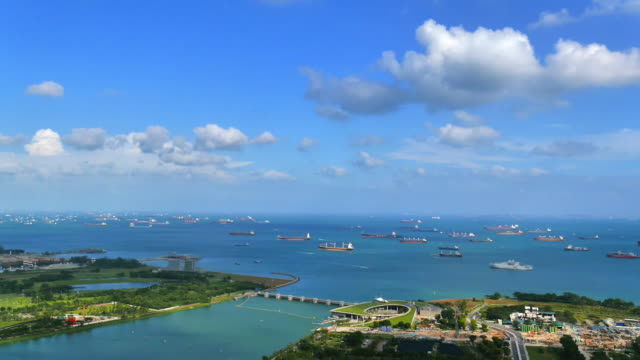 singapore bay - reservoir stock videos and b-roll footage
