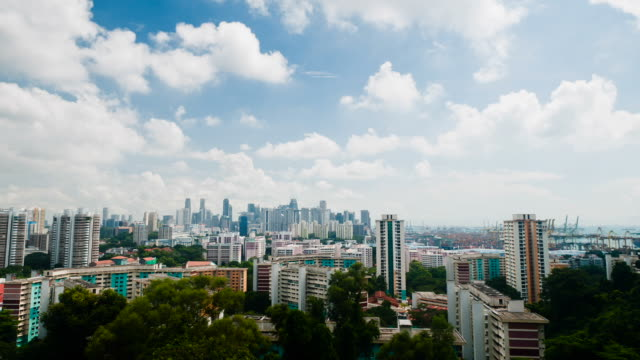 singapore city scenery - singapore stock videos & royalty-free footage
