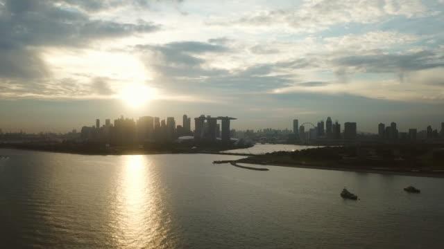 singapore city - singapore river stock videos & royalty-free footage