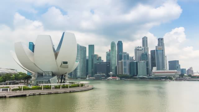 Singapore Skyline in marina bay