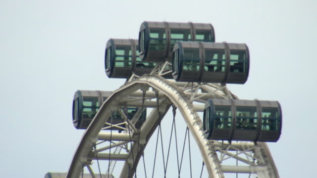 ms singapore flyer / singapore - singapore flyer stock videos and b-roll footage