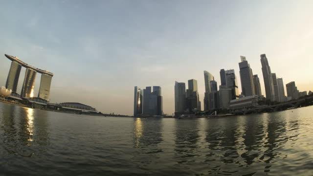 シンガポールマリーナ HD タイムラプス