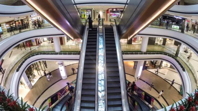 stockvideo's en b-roll-footage met singapore, raffles city shopping centre - shopping centre
