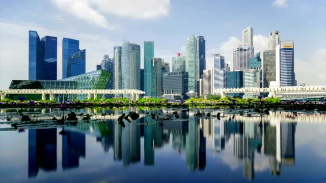 Singapore Skyline 2015 from Art Science Museum