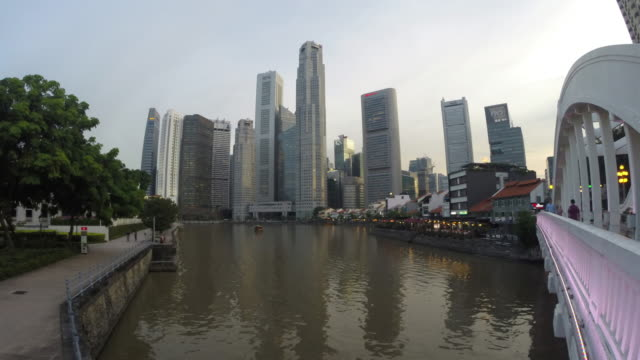 Singapore, the Singapore River at Boat Quay